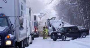 Severe Weather Michigan Pileup